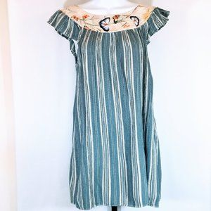 Karen Zambos Vintage Couture Shift Prairie Dress